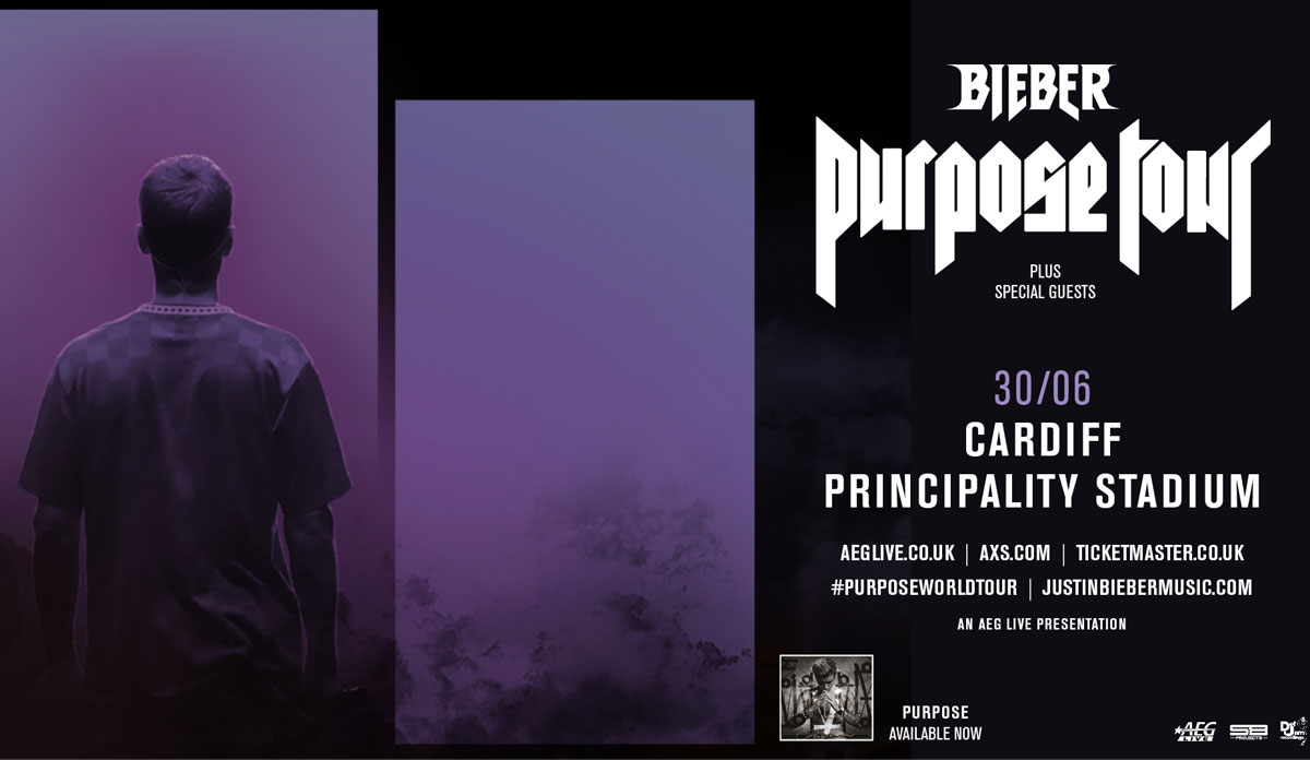 Justin Bieber: Purpose World Tour.