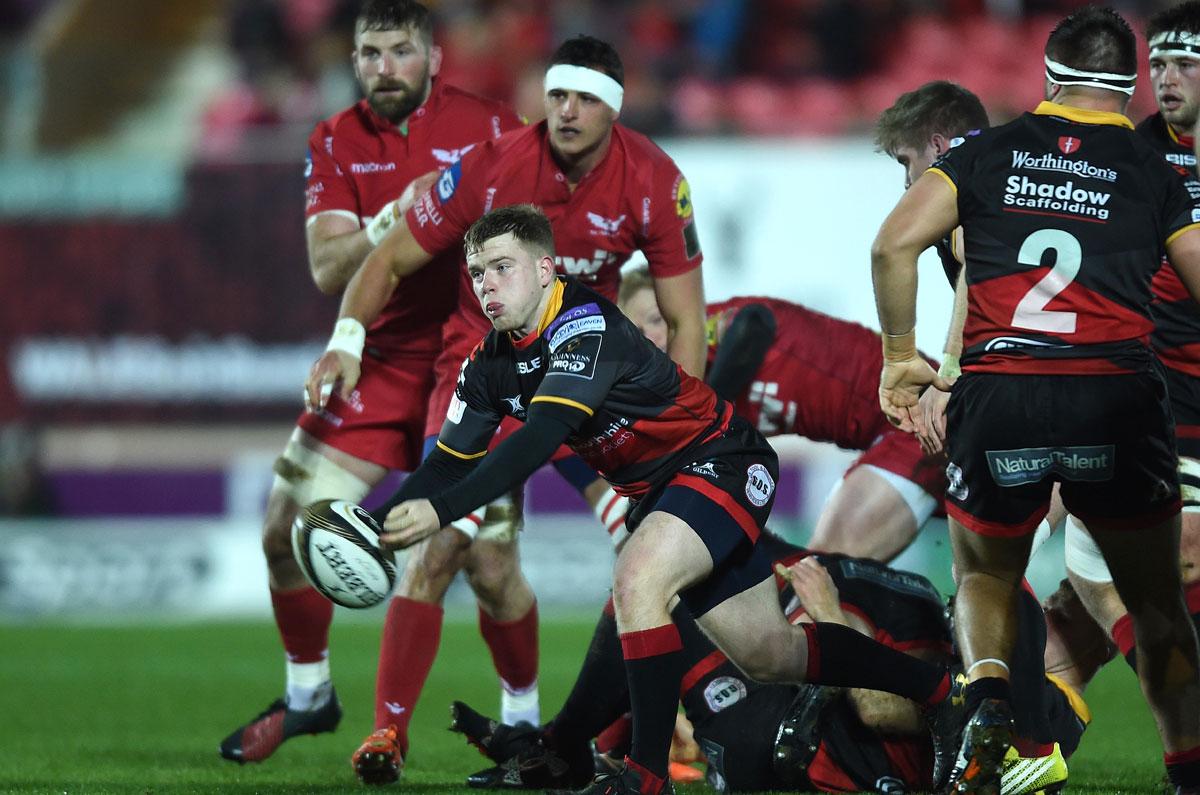 JDVI: Dragons v Scarlets